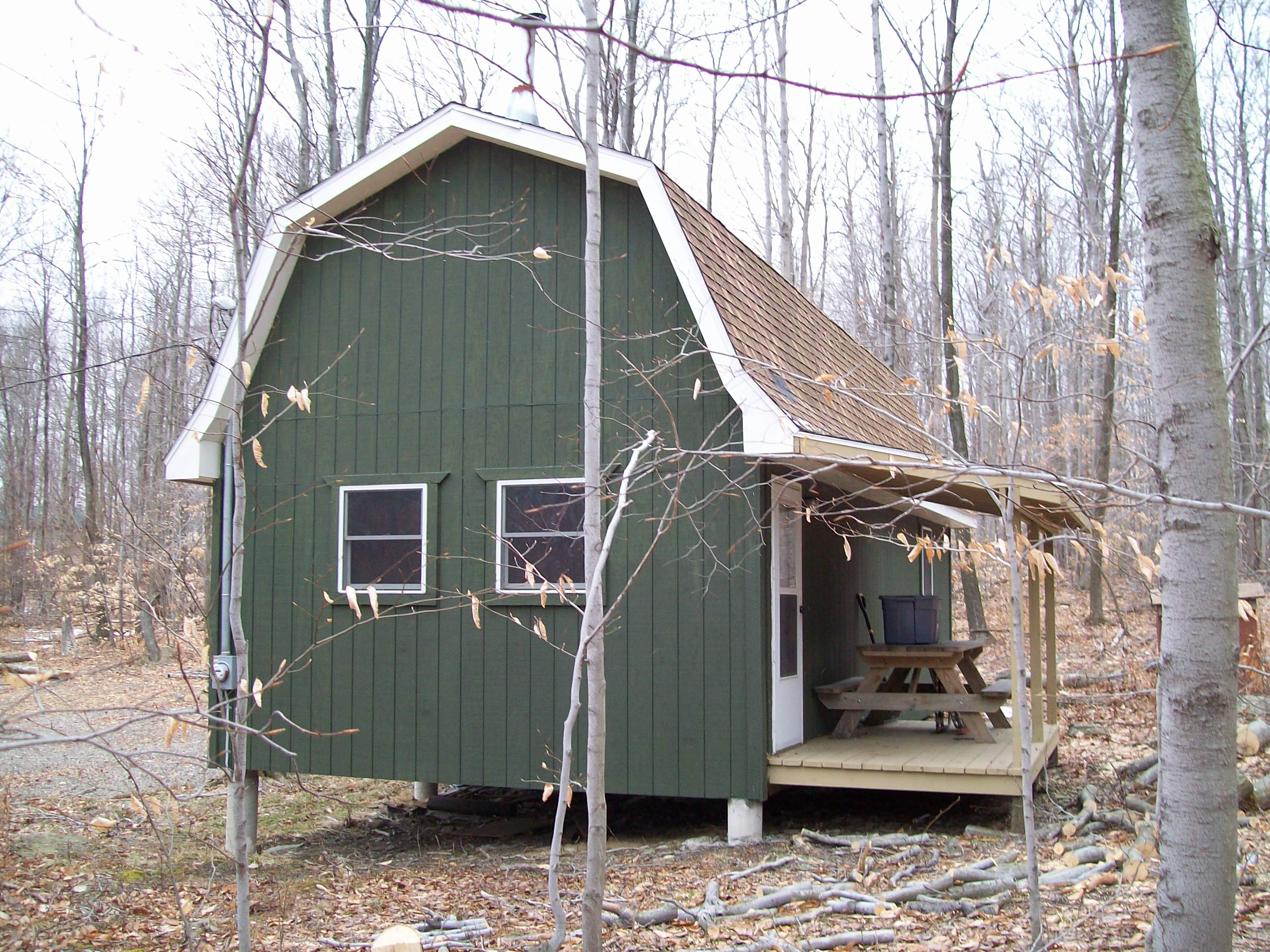 16x32 cabin plans with loft joy studio design gallery for Pictures of small hunting cabins
